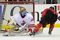 OBHA Member & JTC Alumni Shines in the Net versus Junior Team Canada