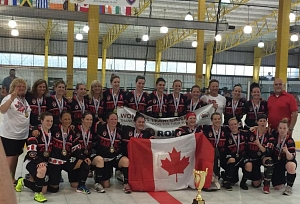 Women's Team Canada At Its Peak In The Steel City