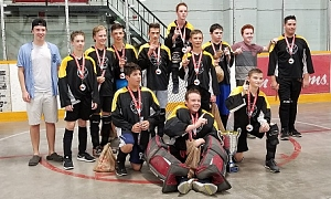 Rebels win Pee Wee A Championship