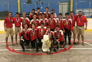 Pee Wee Provincial Champions