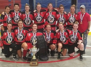 OBHA Women's Provincials a Rousing Success