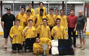 Knights Capture Bantam-Junior Title