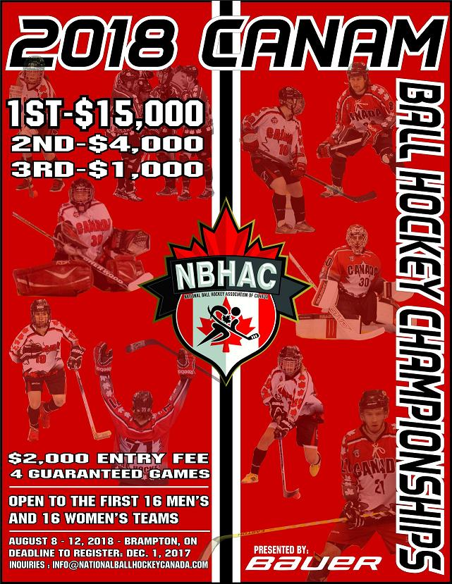 Who are the best Men's and Women's Ball Hockey teams in North America?