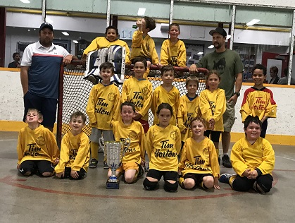 Panthers 2018 Tyke BB Champs