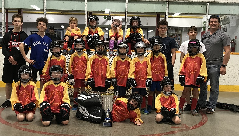 Penetang Home Hardware Win Tyke B Crown